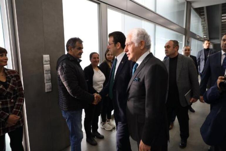 Ekrem İmamoğluna Şişlide protesto
