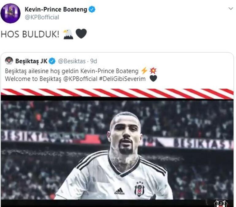 Son dakika | Beşiktaş Kevin-Prince Boatengi resmen açıkladı