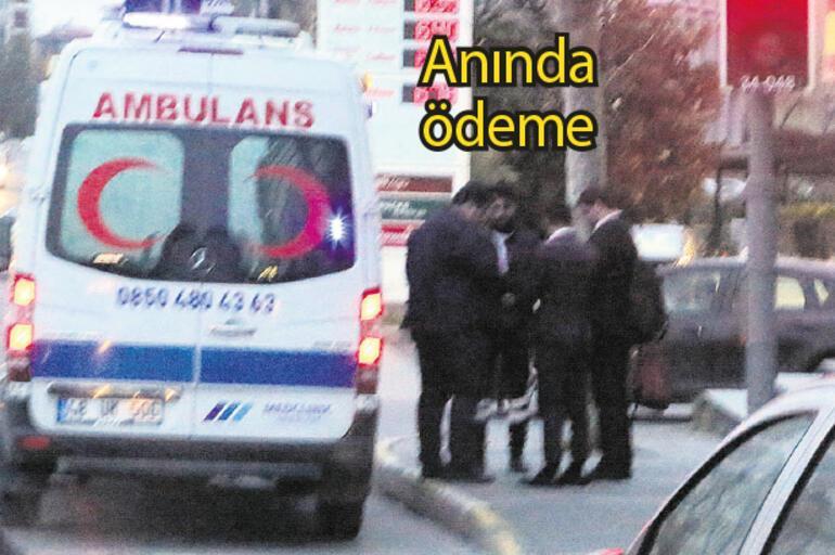 VIP ambulans Hastaya 400 patrona 700