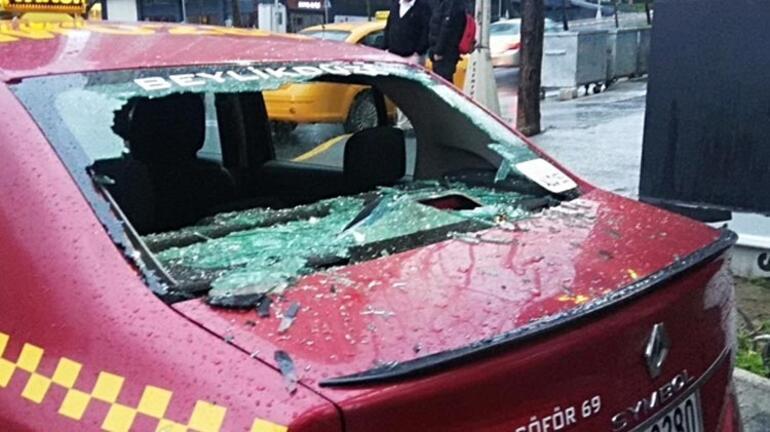 Esenyurtta taksiciler arasında silahlı kavga 5 kişi yaralandı