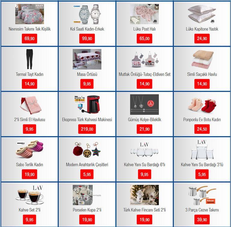 BİM aktüel ürünler kataloğunda bu hafta neler var BİM 7 Şubat aktüel ürünler kataloğu
