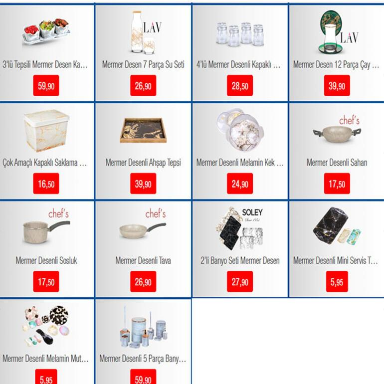 BİM aktüel katalog ürünleri bugün indirimde BİM 11 Şubat geçerli ürünler