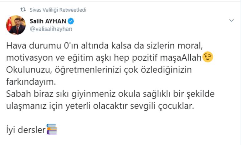Yozgat, Sivas ve Niğdede 11 Şubat (Bugün) okullar tatil mi Yozgat, Sivas ve Niğde Valilikleri açıklama yaptı mı