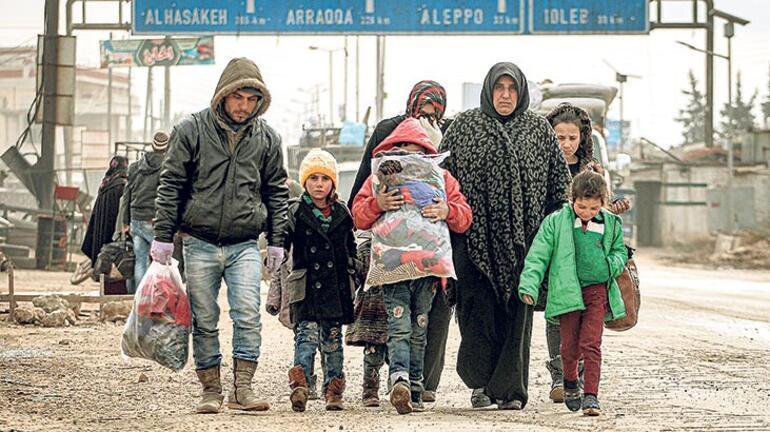 4 günde 27 bin sivil daha yerinden edildi