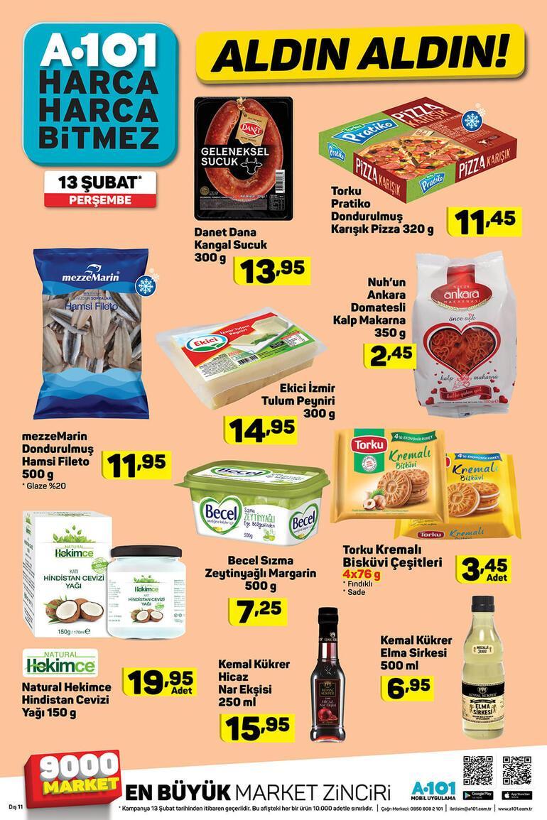 A 101 aktüel ürünler kataloğunda bu hafta neler var A 101 mağazalarında sevgililer gününe özel ürün seçenekleri