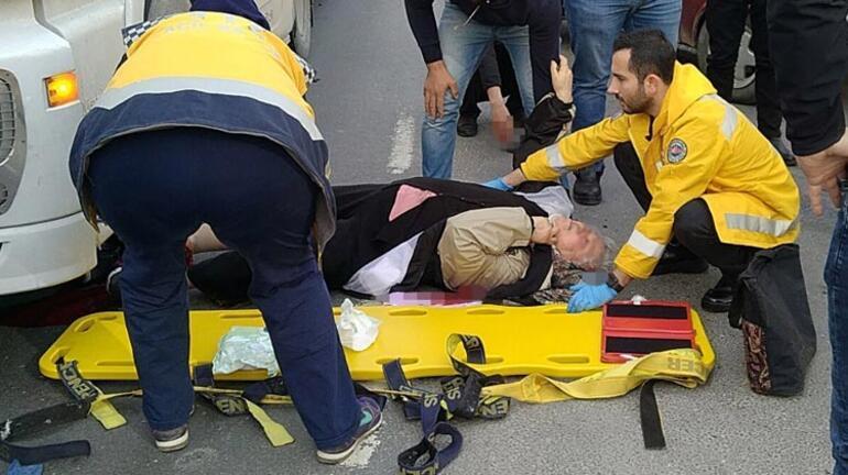 TIRın altında kalan yaşlı kadının bileği koptu
