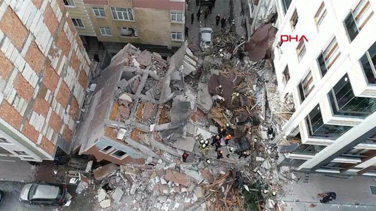 Son dakika haberleri | İstanbul Bahçelievlerde 7 katlı bina çöktü