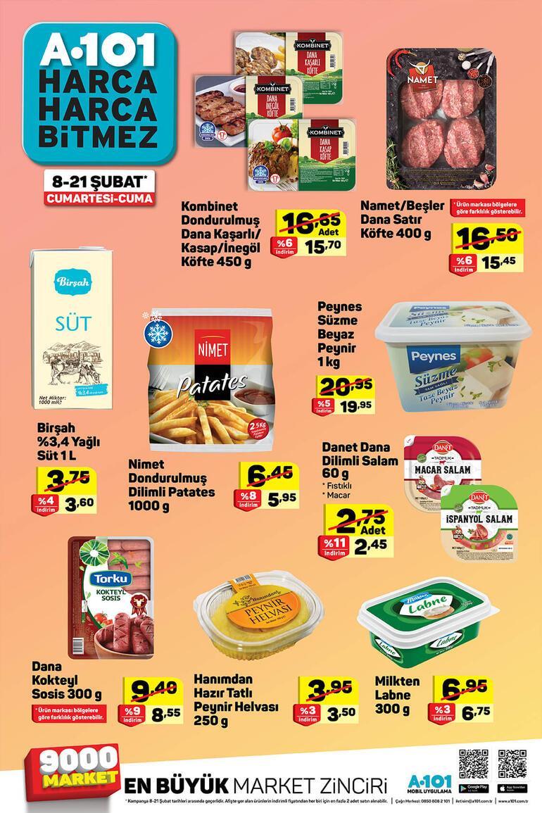 A 101 15-21 Şubat aktüel ürünler kataloğunda bu hafta neler var A 101 aktüel ürünler kataloğu...
