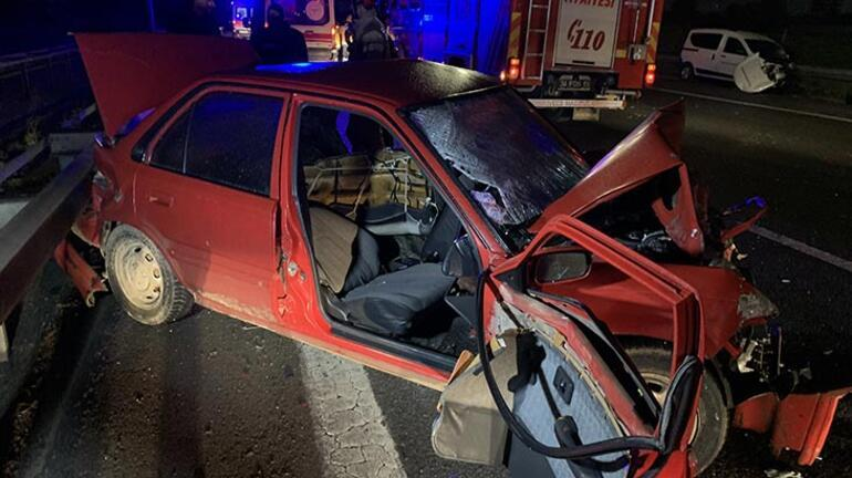 TEMde sabaha karşı feci kaza: 2 ölü var