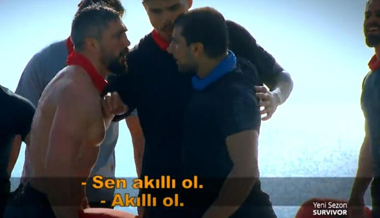 Survivorda ilk kavga Perviz Abdullayev ile Yasin Obuz birbirine girdi