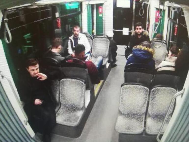 Kadir Şekerin cinayetten önce bindiği tramvaydaki görüntüleri ortaya çıktı