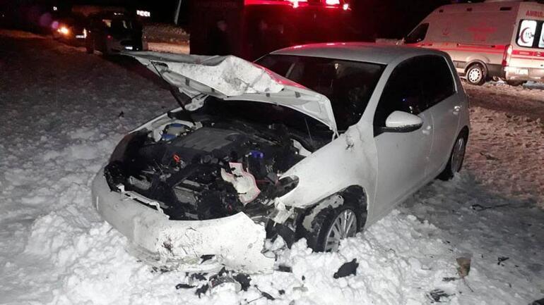 Feci kaza Aynı aileden 3 kişi hayatını kaybetti