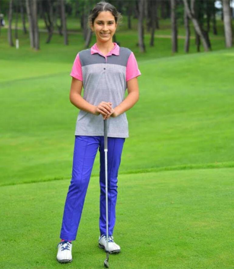 Kemer Country Golf Kulübü sporcusu Sude Baydan büyük başarı