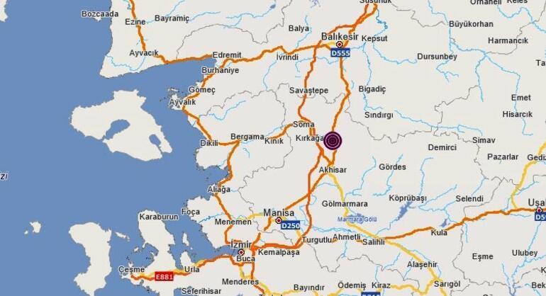 Son dakika | Manisada deprem: İzmir ve Bursa da sallandı