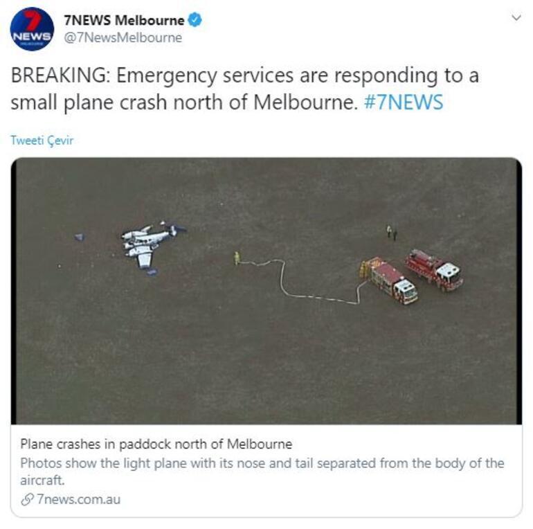 Dünyada son dakika | Avustralya'da iki küçük uçak havada çarpıştı 4 kişi hayatını kaybetti