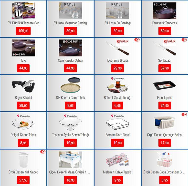 BİM aktüel  ürünler kataloğunda bu hafta neler var 21 Şubat BİMde ankastre set, Takı Dolabı ve Erkek Bakım seti satışa çıkıyor