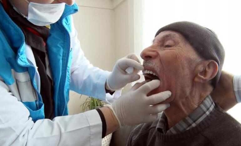 EVDEyi tuşladı, evine diş kliniği geldi