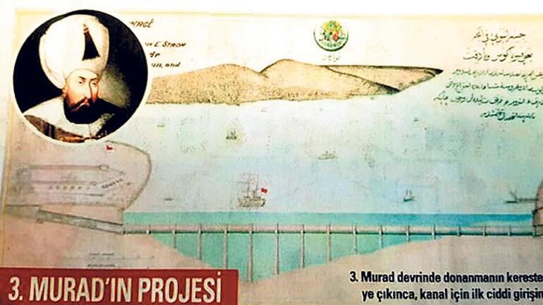 Padişahların ve  Özal'ın kanal projesi