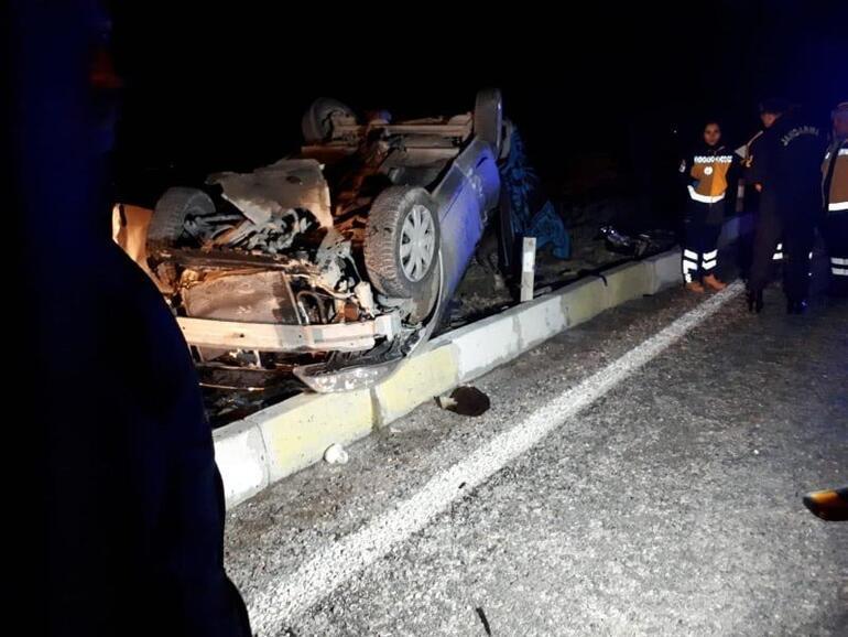 Son dakika   Denizlide feci kaza Yolcu otobüsü ile otomobil çarpıştı