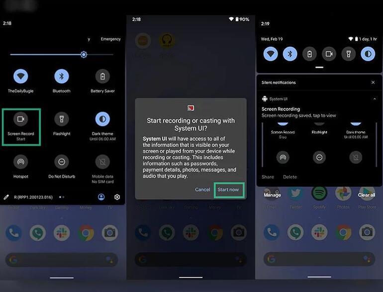 Android 11 ile hayatımıza katılacak yenilikler