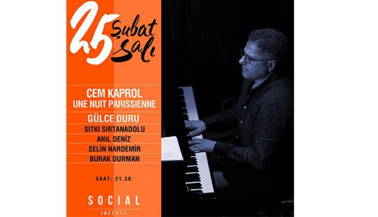 Social Jazz Barda Parizyen bir gece