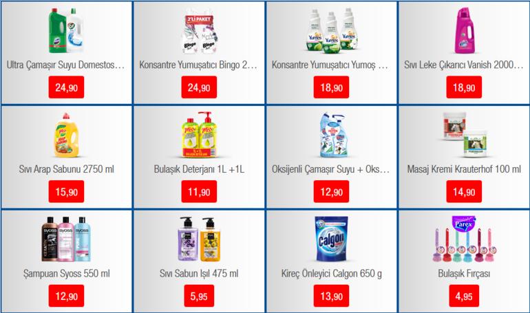 BİMde bugün hangi indirimli ürünler satışa çıkacak BİM 25 Şubat aktüel ürünler kataloğu