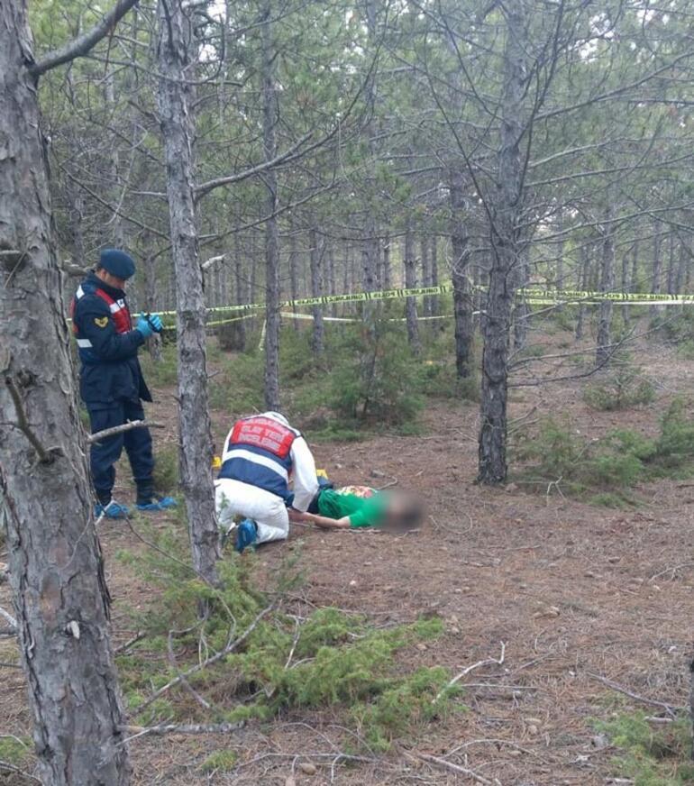 Kan donduran cinayet Nişanlısını ormanlık alana götürüp...