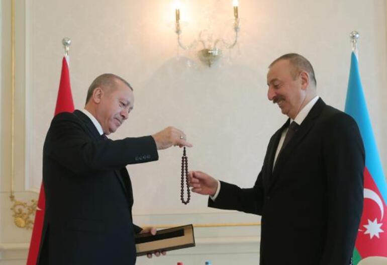 Cumhurbaşkanı Erdoğan Azerbaycanda
