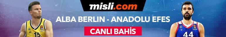 Alba Berlin - Anadolu Efes maçı canlı bahis heyecanı Misli.comda