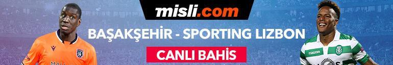 Başakşehir - Sporting maçı canlı bahis heyecanı Misli.comda