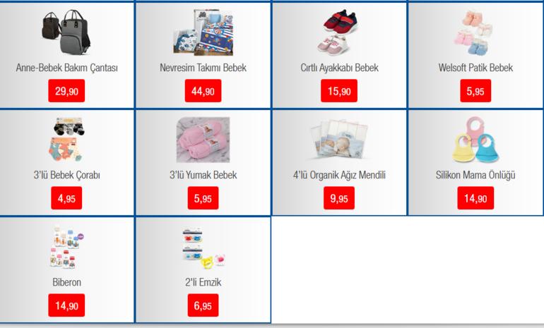 BİMde bu hafta hangi indirimli ürünler var BİM 6 Mart indirimli ürünler kataloğu