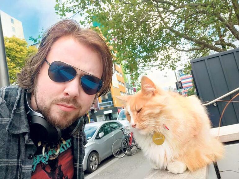 Yeni Zelanda'nın en meşhur kedisi