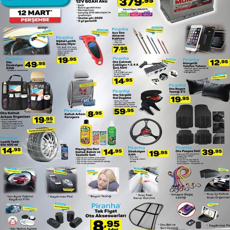 A 101 aktüel katalog yayınlandı A 101 12 Mart Perşembe ürünleri neler, fiyatları ne kadar