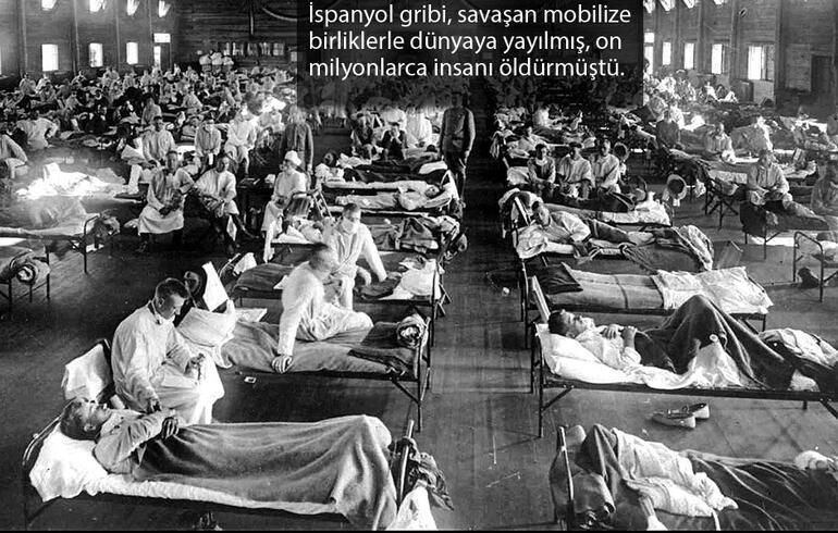 İspanyol gribi 1. Dünya Savaşı'nı bitirmişti - Menderes Özel