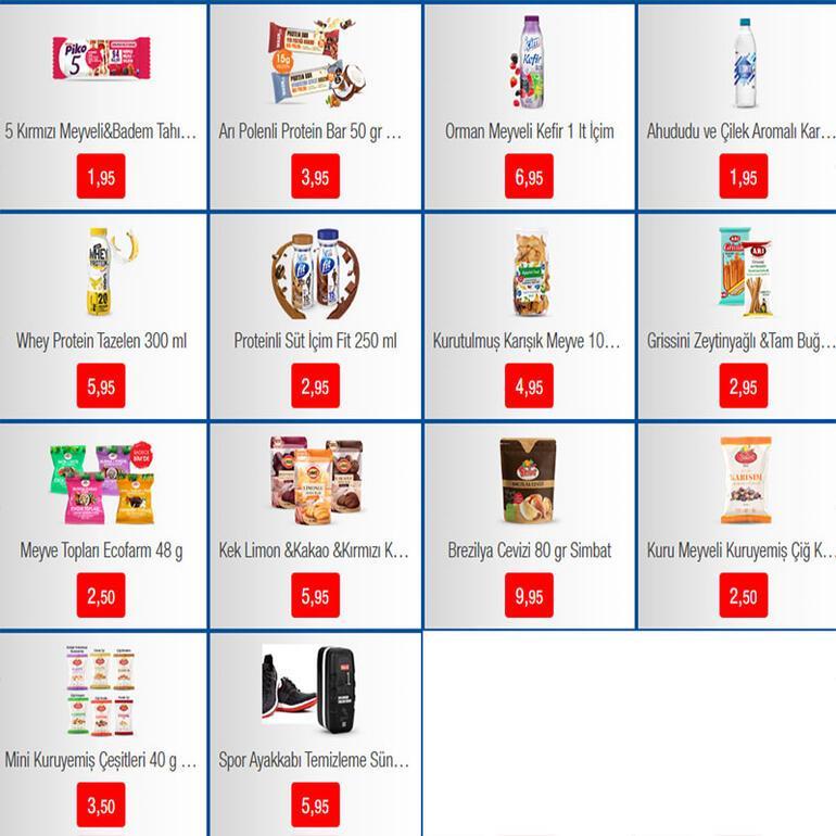 BİM aktüel katalog 17 Mart - 20 Mart ürünleri - fiyatları