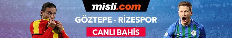 Göztepe - Rizespor canlı bahis heyecanı Misli.comda