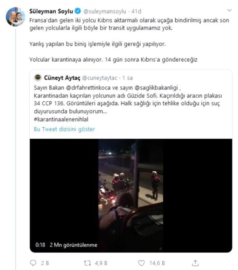 Son dakika: Sosyal medyada çok konuşuldu Karantina otobüsünden yolcu kaçırdılar