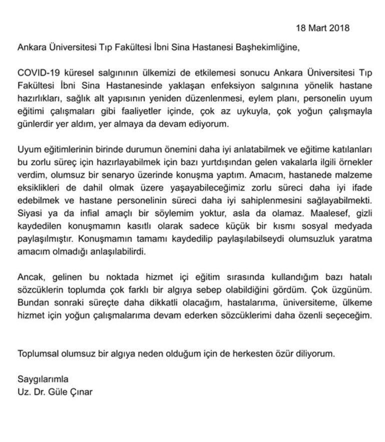 Sosyal medyada yayılan görüntülerde yer alan Güle Çınardan açıklama geldi Güle Çınar kimdir