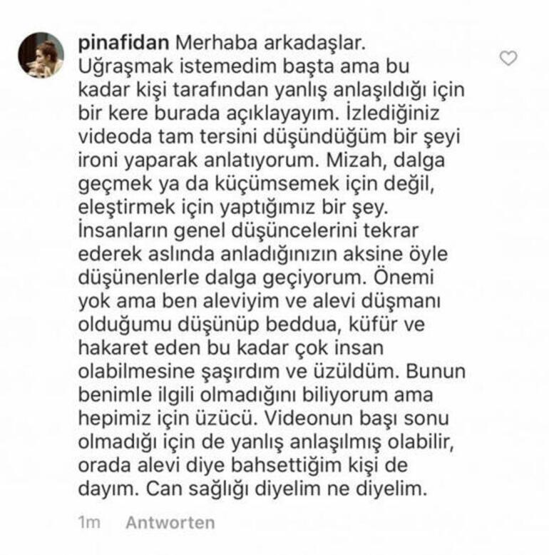 Pınar Fidan'ın Alevilerle ilgili skandal sözlerine tepki yağıyor Soruşturma başlatıldı