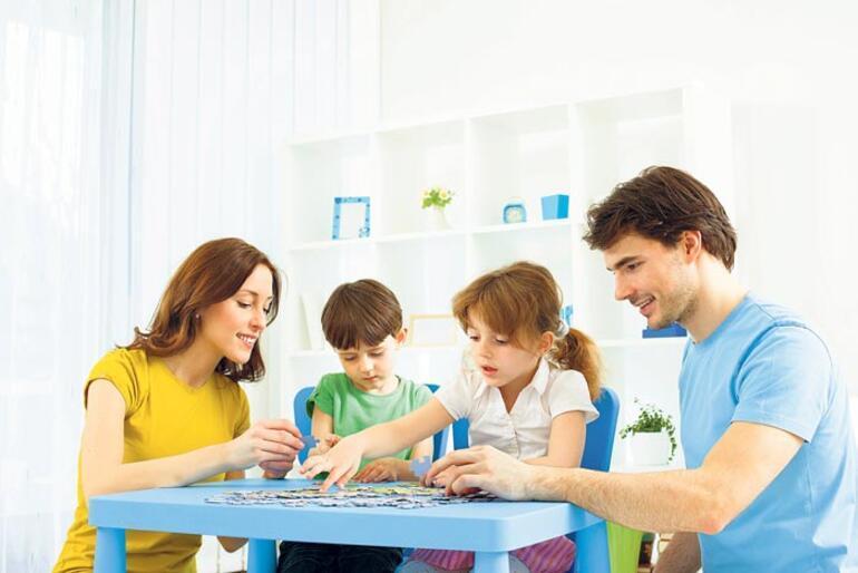 Çocuklarla evde keyifli vakit geçirmenin yolları