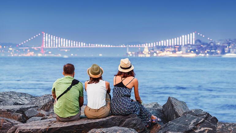 Türkiyeye gelen turist sayısı arttı