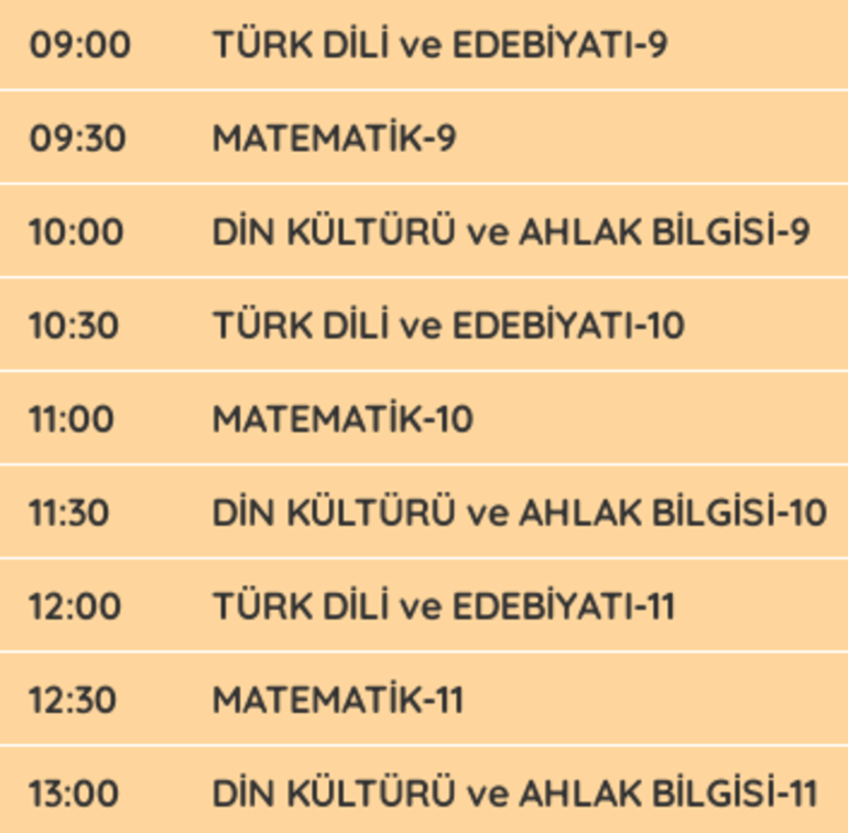 EBA TV - TRT canlı izle EBA öğrenci girişi | Dersler saat kaçta başlıyor, kaçta bitiyor