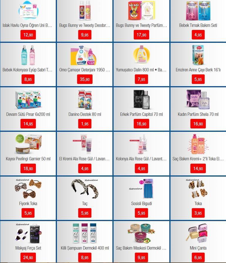 BİM aktüel 24 Mart 2020 kataloğu fırsatları / Bu hafta salı günü BİM aktüel ürünler listesinde neler var