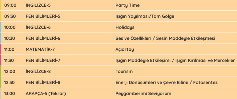 EBA TV + TRT canlı yayını bugün var mı EBA hafta sonu ders işleyecek mi
