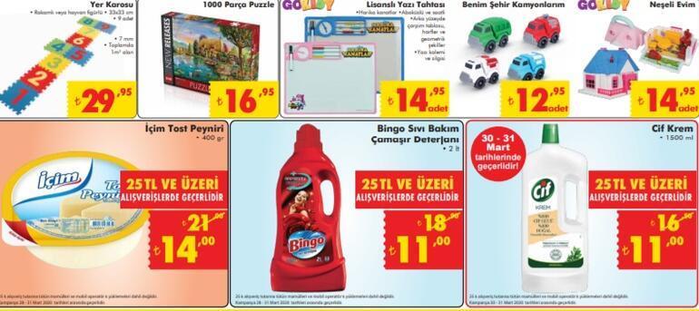 ŞOK 28 Mart aktüel ürünler kataloğu ŞOK Market aktüel kataloğunda bu hafta sonu neler var