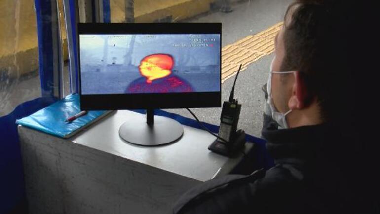 Son dakika: 39 polis merkezi girişine termal kamera kuruldu