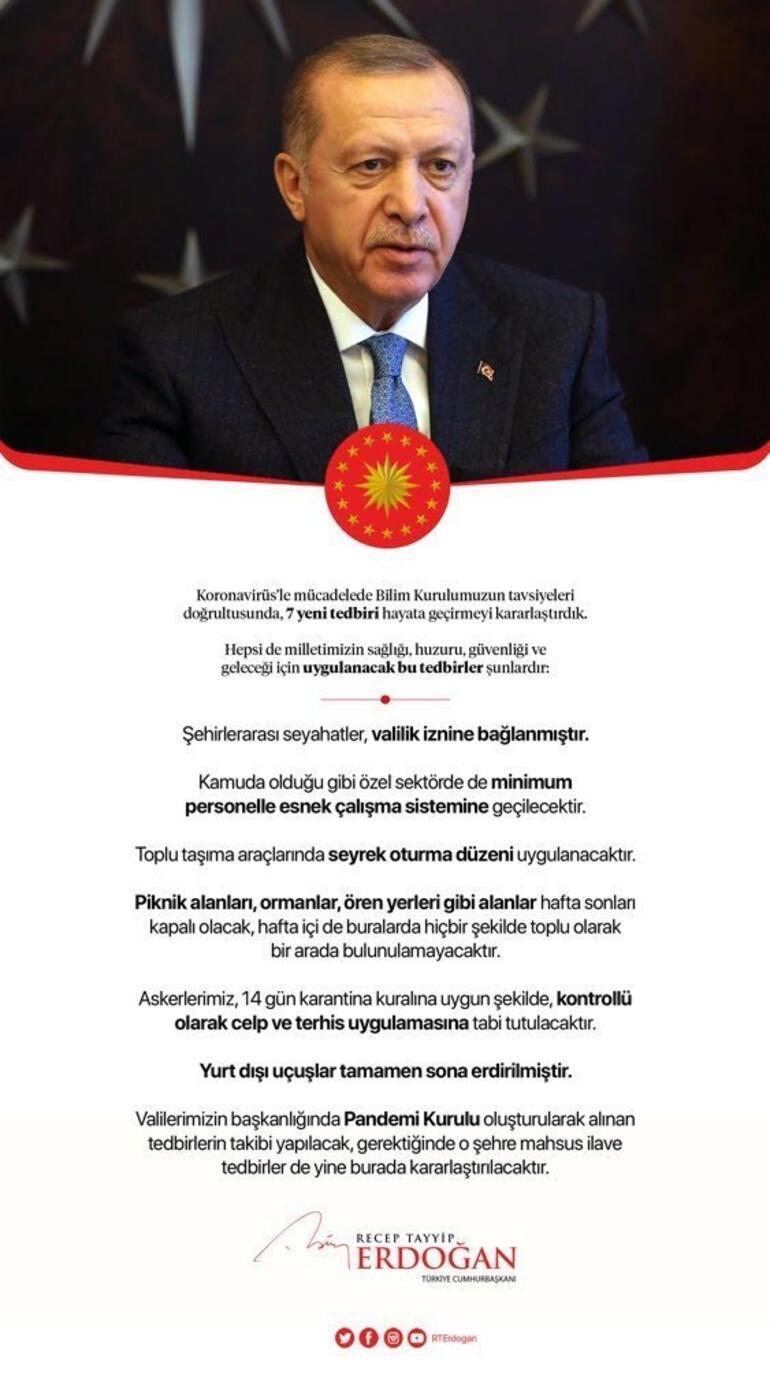 Son dakika: Cumhurbaşkanı Erdoğan: 30 büyükşehrimizin tamamında uygulamaya geçmiştir