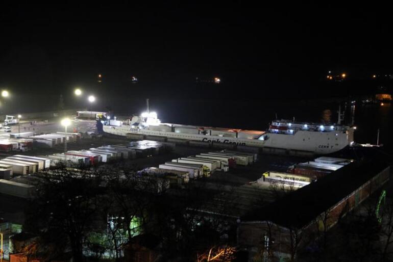 Ukraynadan gemiyle geldiler 34 kişi karantinada