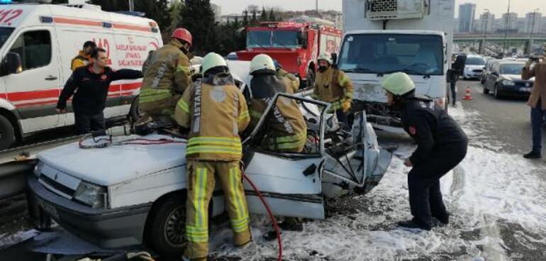 İstanbulda korkunç kaza