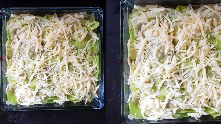 Lazanya değil lahanya: Sağlıklı lahana lazanya tarifi
